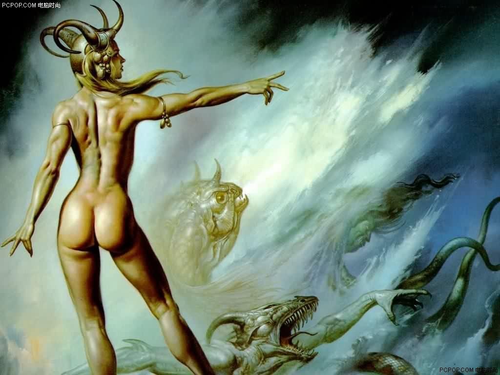 古希腊神话图像 - 草原雄鹰的日志