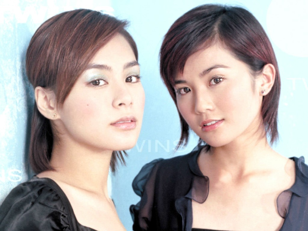 twins黑白照